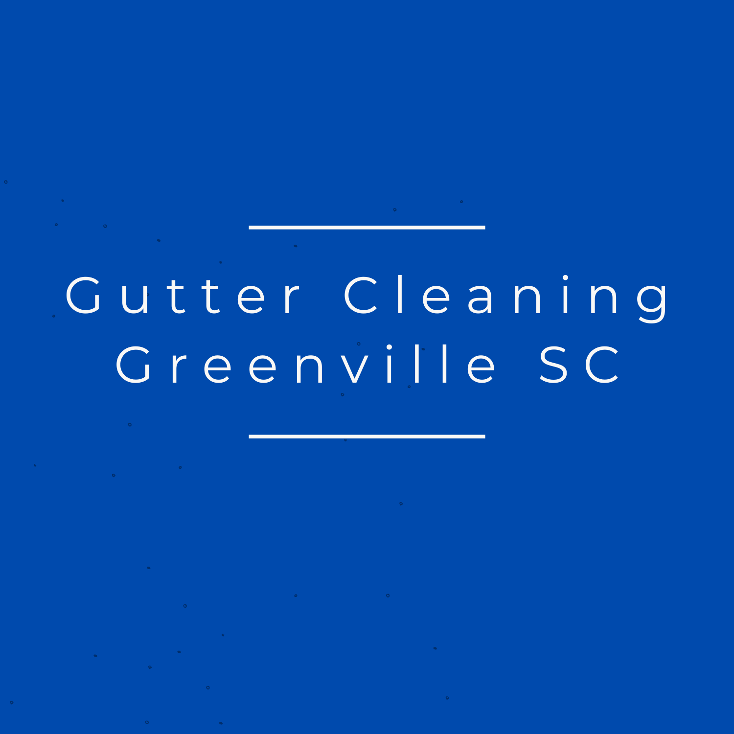 Gutter Cleaning Greenville SC
